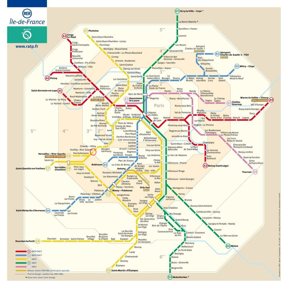 Plan rer paris plan m tro paris - Horario metro paris ...
